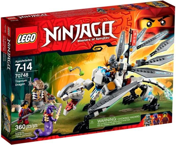 LEGO # 70748 NINJAGO TITANIUM DRAGON