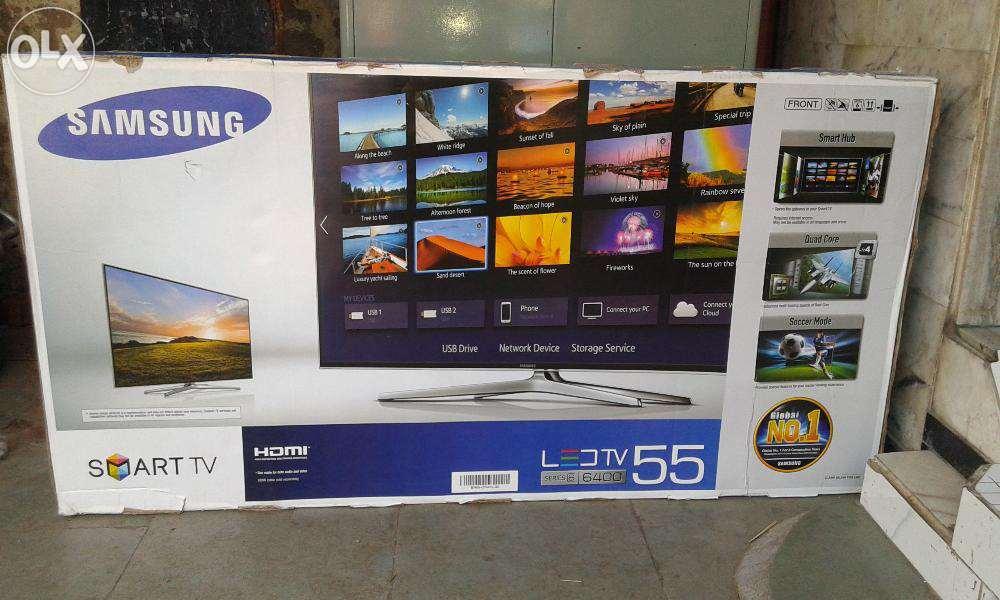 samsung tv box. jual brand new box pack samsung 55 inch 3d led smart tv h6400 - udingguronto | tokopedia