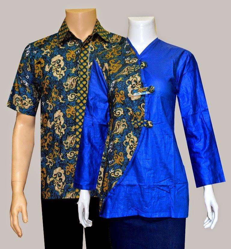 Couple Batik Blouse 101