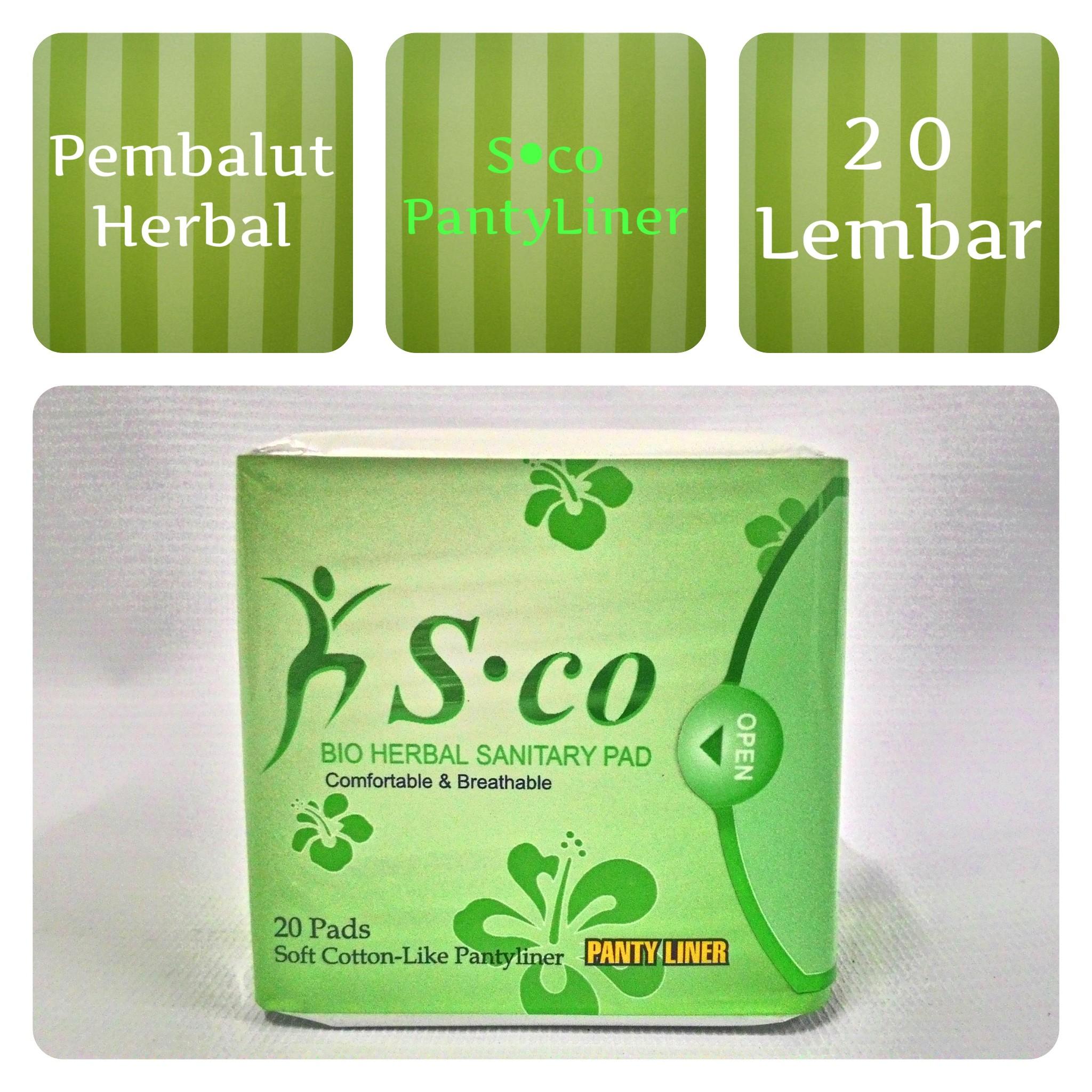 Lucky Avail Pembalut Herbal Feminine Comfort Sanitary Pad Day Biru Sco Use Source Harga Hibis