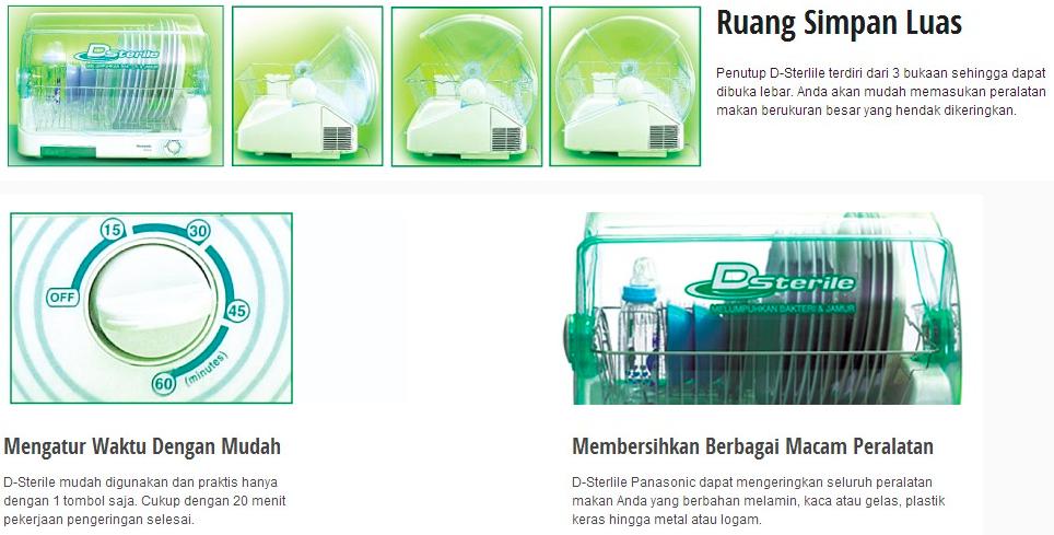 Sterilizer Panasonic Dish Dryer Sterilizer And Dish Dryer