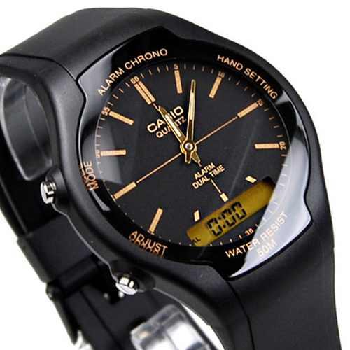 jam tangan casio original garansi resmi 1 tahun [AW 90H 9E] ayotaya