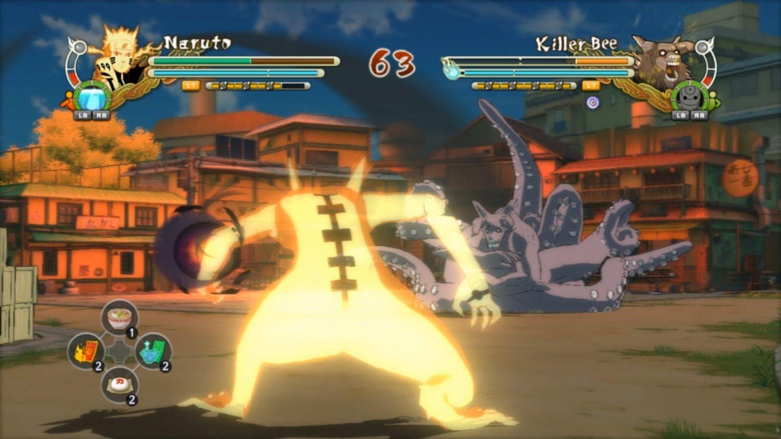 Hasil gambar untuk Naruto Ultimate Ninja storm Revolution