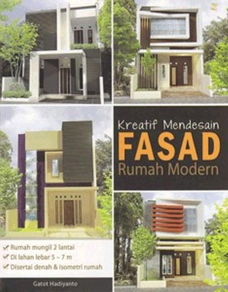 jual kreatif mendesain fasad rumah modern oleh gatot