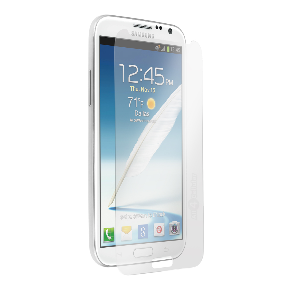 Screen Guard Protector Clear Samsung Note 2 Anti Gores Great Quality