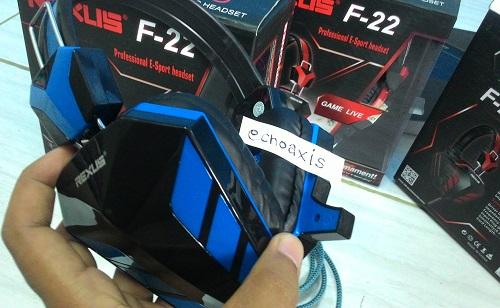 Jual Headset Rexus F22 Gaming Pro Blue