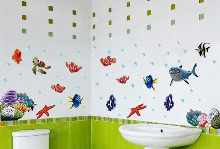 Galeri produk detil dinding stiker wall sticker kamar mandi secrets of ocean ay617 tokoonline360 tokopedia