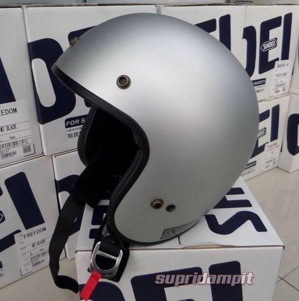 Helm Shoei Freedom silver not Arai AGV Shark Nolan