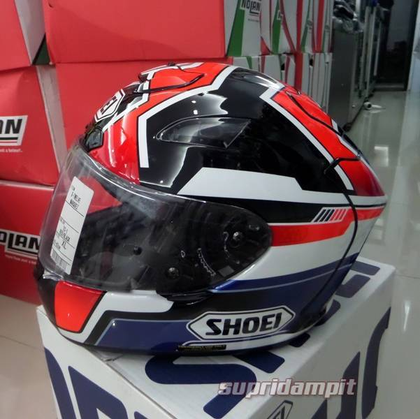 Helm Shoei X12 Marquez not Arai AGV Shark Nolan HJC X-LITE