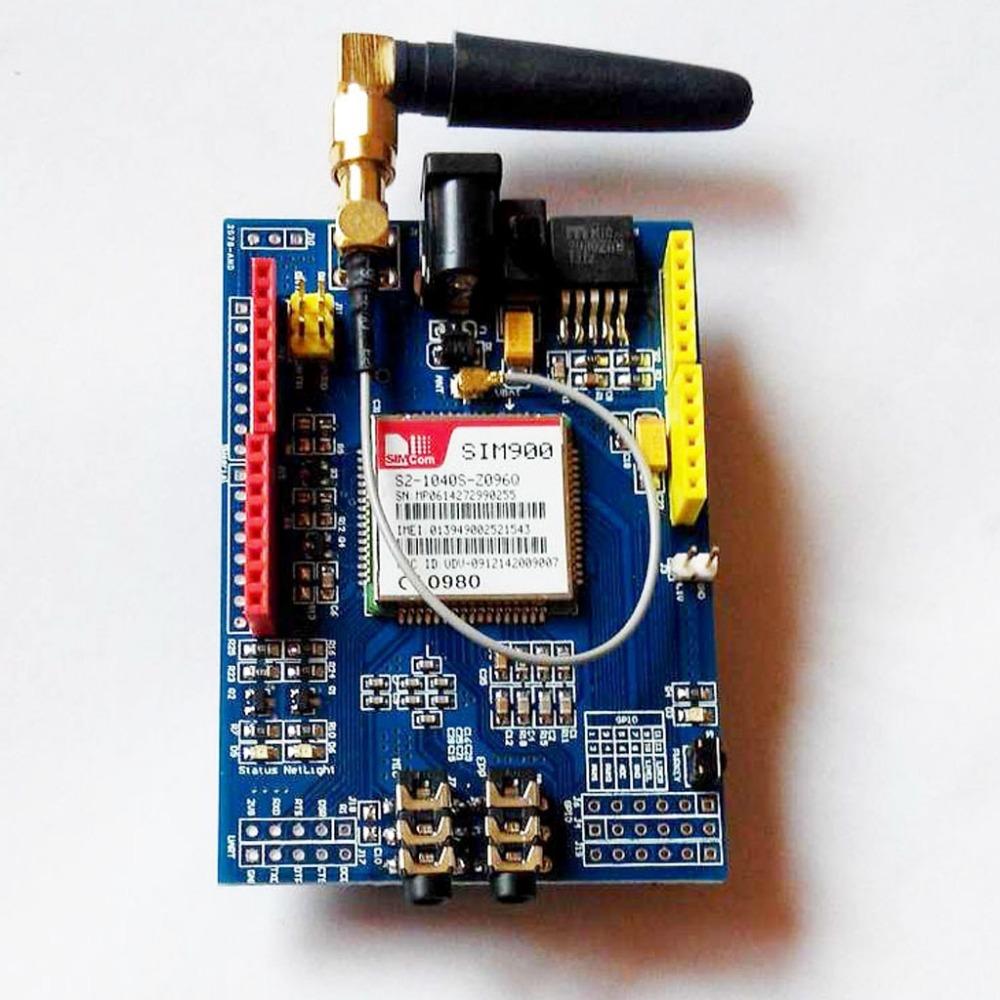 Jual sim quad band gprs gsm shield for arduino spark
