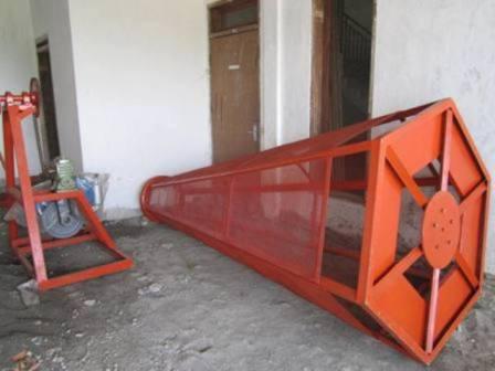 mesin pengayak bahan kompos