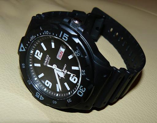 jam tangan pria casio analog original garansi resmi 1 tahun [MRW 200H