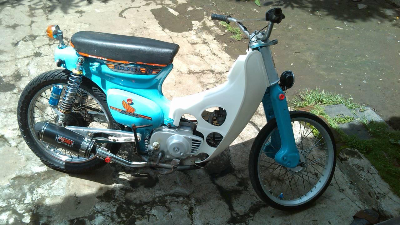 Jual Honda C70 Engkel Modif Bisa Tt Hp Zuhri Motor Tokopedia