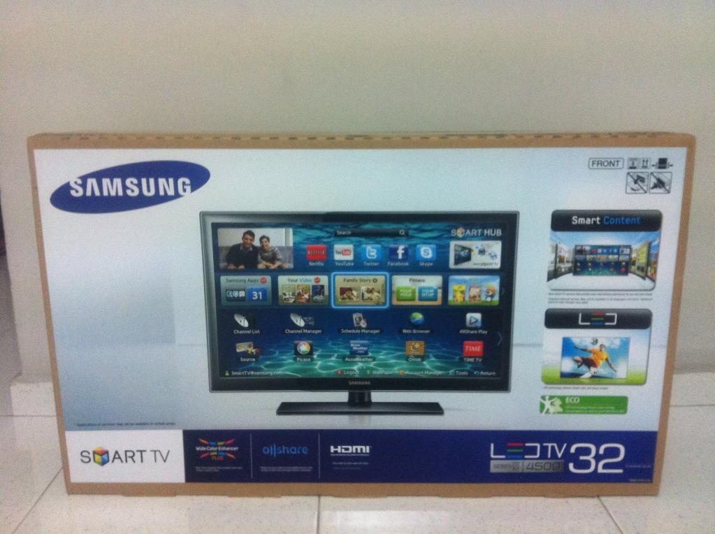 Jual Samsung Led 32 Inchi Smart Tv Elektronik44111 Tokopedia