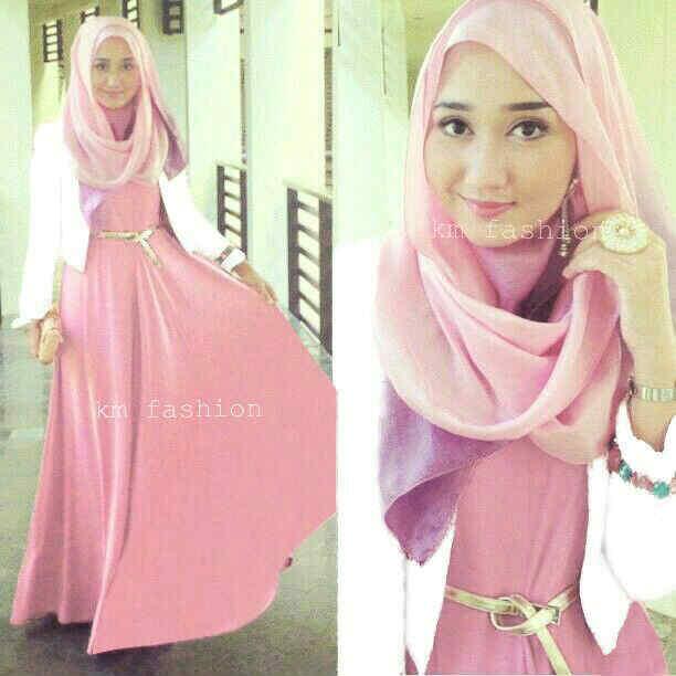 Jual Hijab Vera Dian Pelangi Maxy Pashmina Blazer