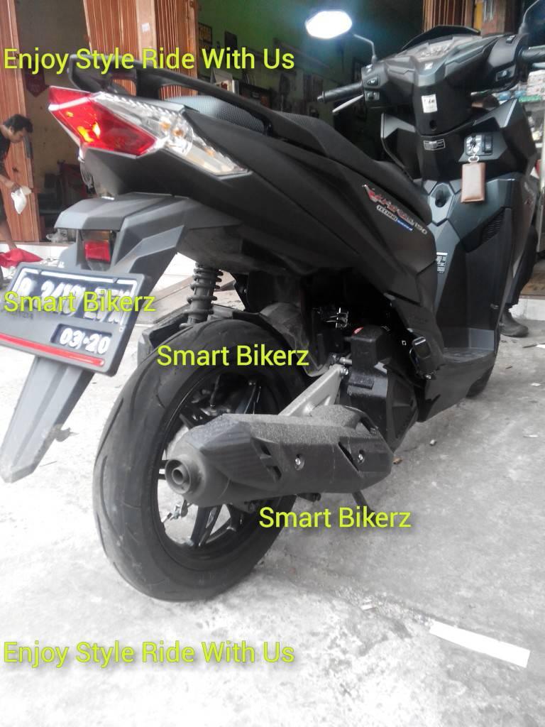 Modifikasi Vario 150 Ban Lebar Kumpulan Modifikasi Motor Vario
