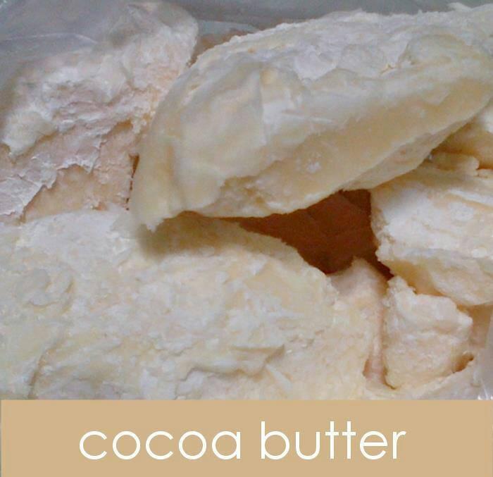 Unrefined Cocoa Butter 1 kg / Lemak Coklat