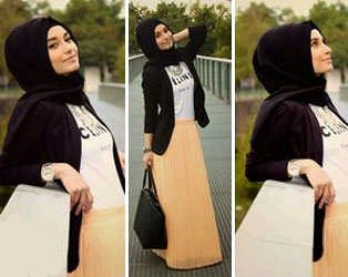 Set 4in1 Hijab Celine