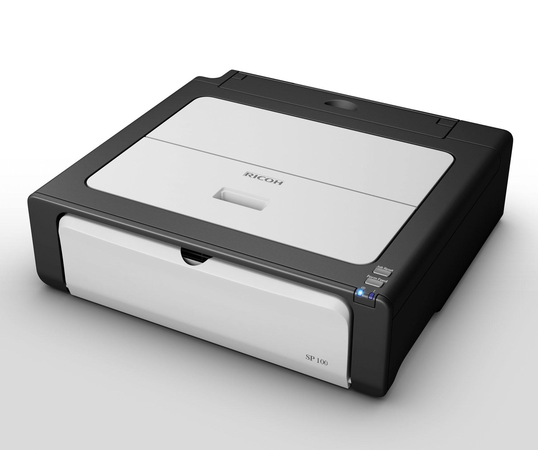 Ricoh aficio sp100 — первая серия домашних принтеров от именитого.