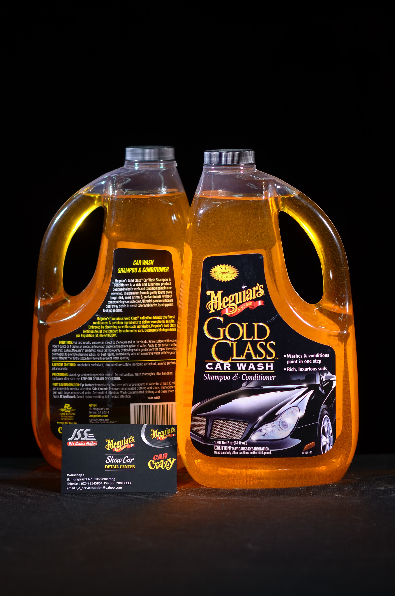 Harga Meguiars Gold Class Carnauba Shampoo & Conditioner