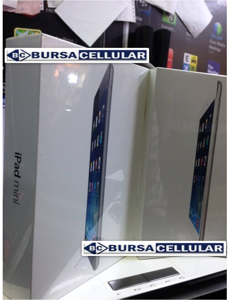 Jual IPAD MINI 3 128GB GRS INTER 1 THN