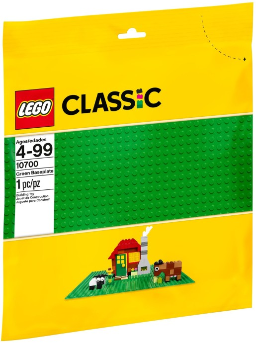 LEGO # 10700 BASIC   32x32 Green Baseplate