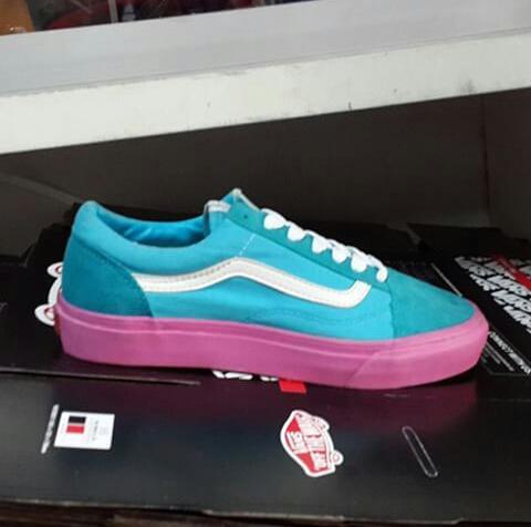 ORI sepatu vans syndicate oldskool golf wang blue