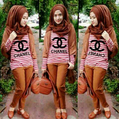 Setelan Hijab Syakila Chanel