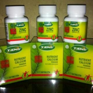harga Peninggi Badan Alami Tiens NHCP + ZINC paket 30hari Tokopedia.com