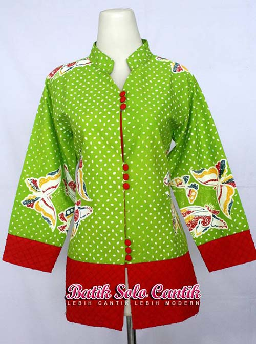 Pics Photos - Baju Batik Wanita Bc 107