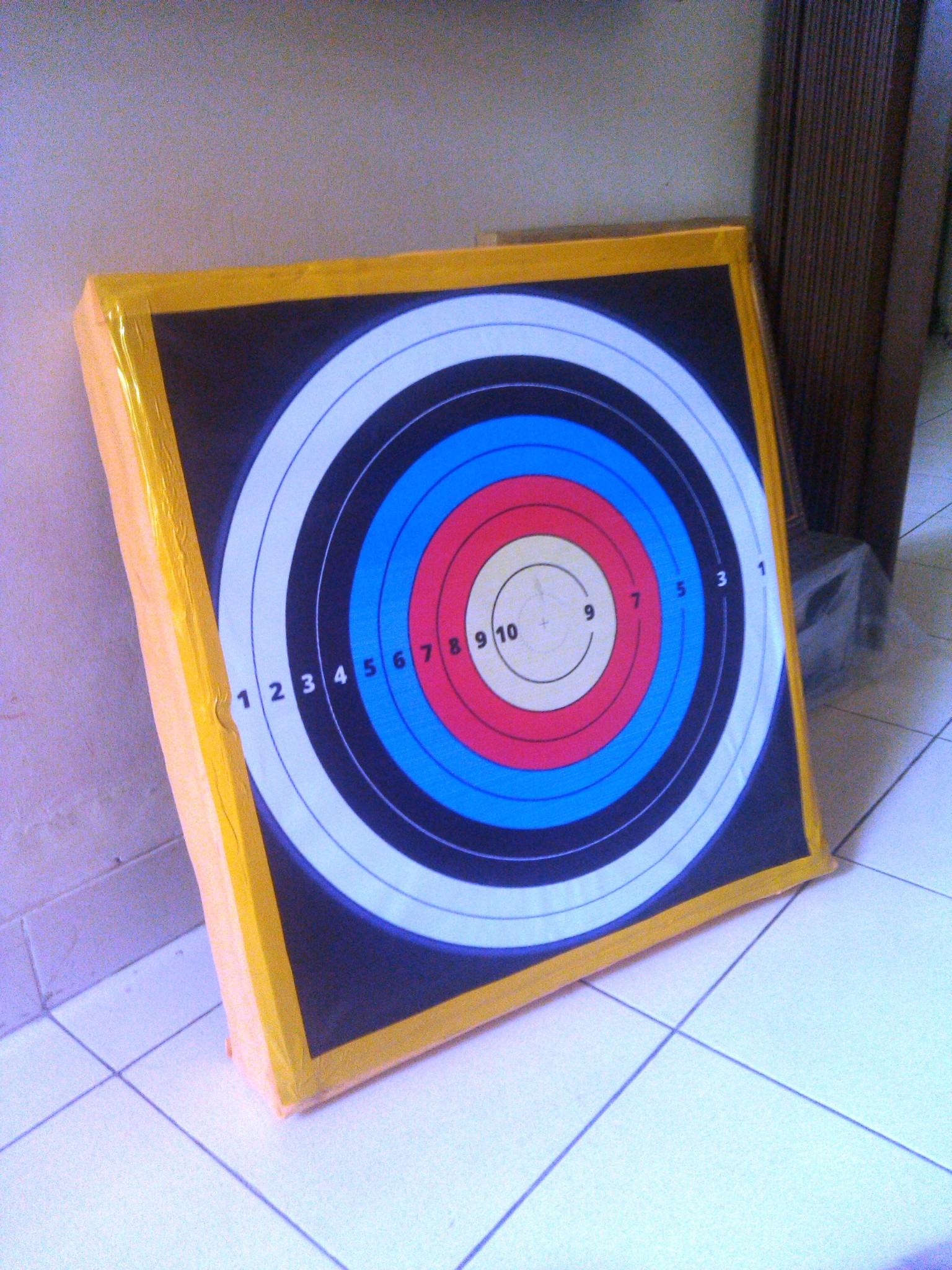 Jual Target Panah Bantalan Spons Karet Janaka Art Archery Tokopedia Face Panahan