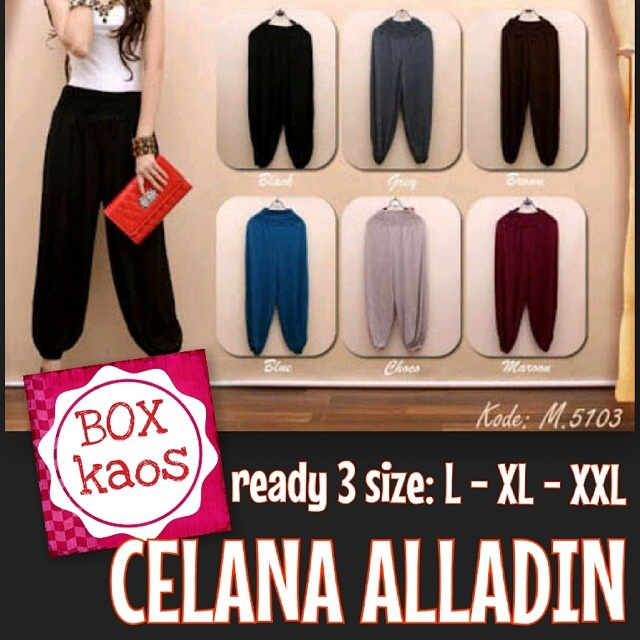 Celana Hijab Model Alladin Bahan Spandex Super fit to XXL