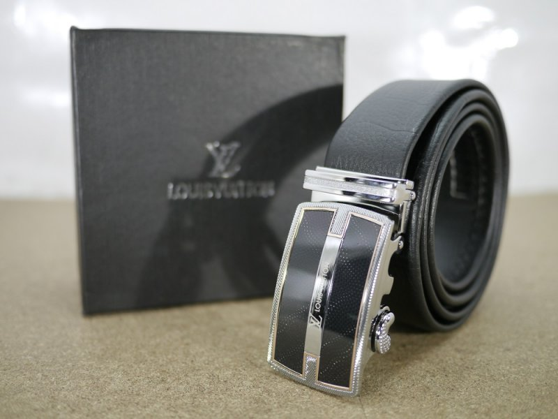 Jual Ikat Pinggang Kulit Asli Import Louis Vuitton LV01 - Sabuk ... 6c4fa0f762