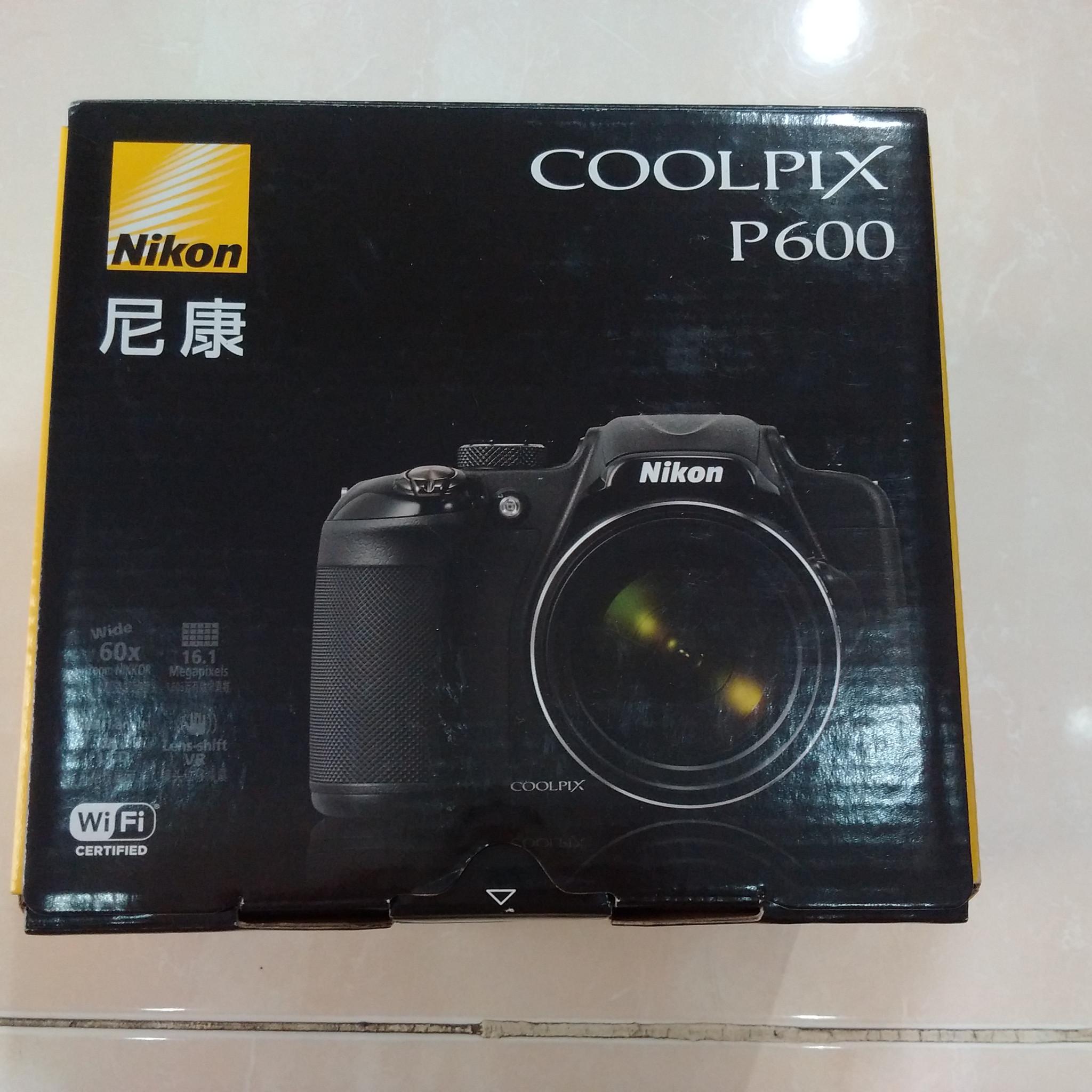 nikon coolpix p600 instruction manual