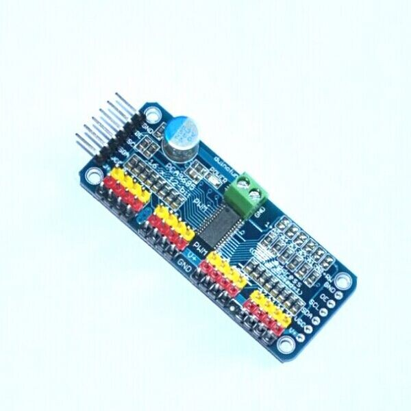 InnoBot: Control de Servomotor con dos pulsadores