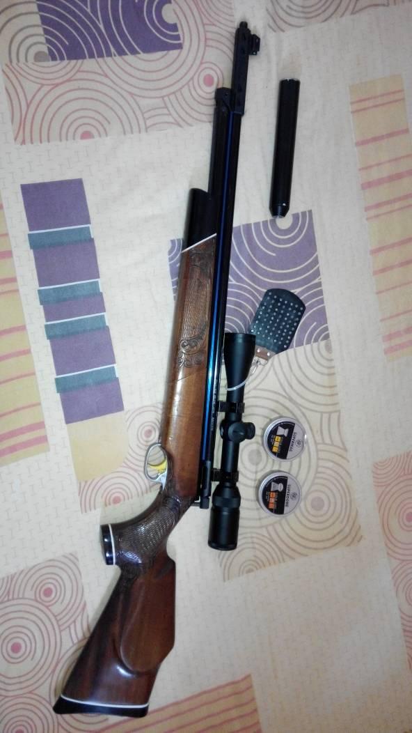 Senapan Angin Sharp Ace Deluxe II Upgrade + tele + pluru RWS + Lain2