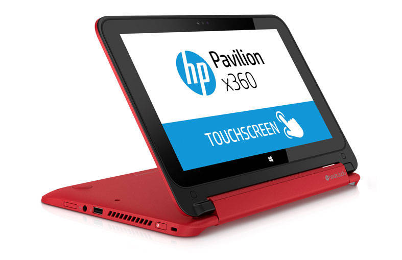 HP Pavilion 11-N028TU-X360 PC Merah TouchScreen