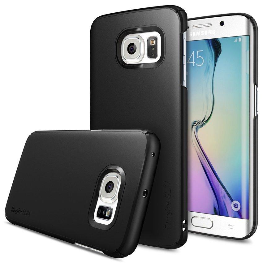 Rearth Samsung Galaxy S6 Edge Ringke Slim - SF Black