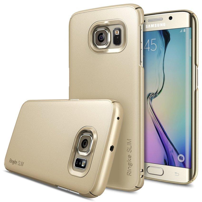 Rearth Samsung Galaxy S6 Edge Ringke Slim - Royal Gold