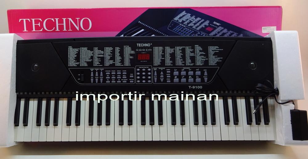 Jual Piano Organ Merek Techno T 9100 Dari Pusat Grosir