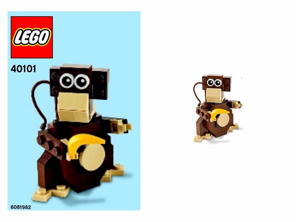 LEGO # 40101 LEGO BRAND STORE MONKEY
