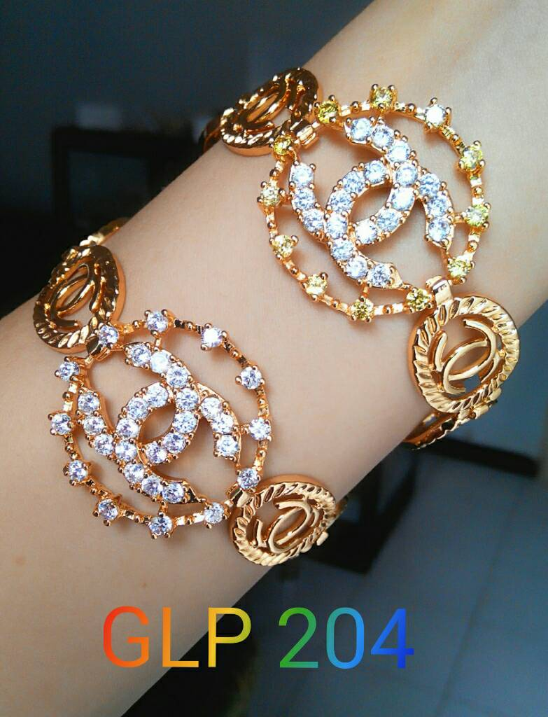 Harga Jual Gelang Chanel Xuping Lapis Emas 18K Murah Di