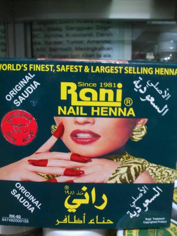Jual Pacar Kuku Rani Nail Henna Refashop Tokopedia