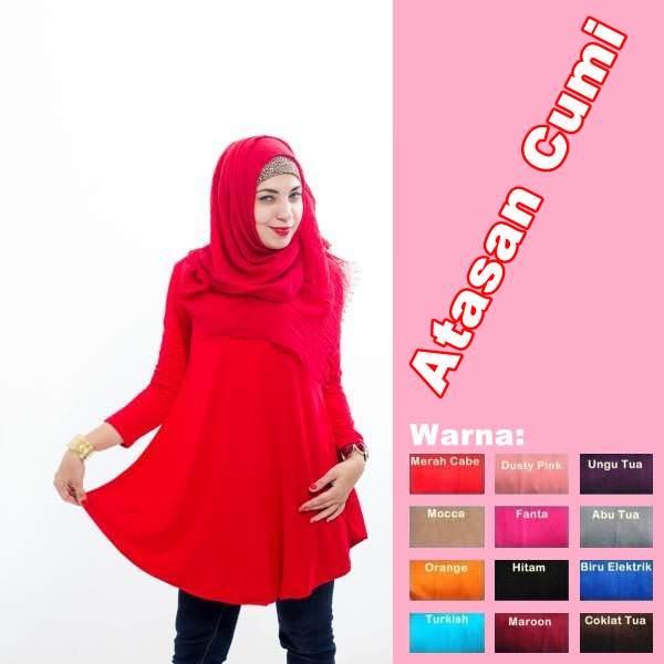 Hijab Fashion Murah : Atasan Cumi