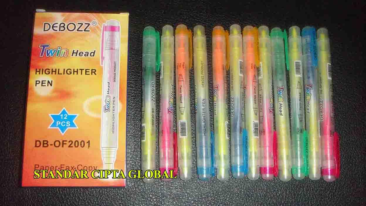 Jual Highlighter Pen Twin Head Stabilo 2 Mata Standar Cipta Warna Joyko Global Tokopedia
