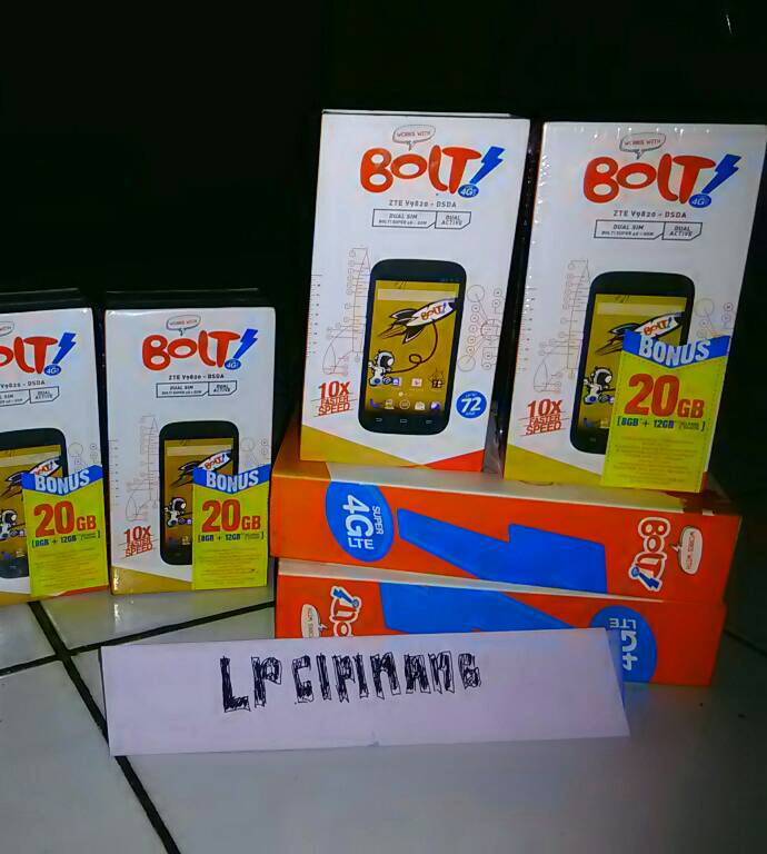 powerphone bolt zte v9820 100% baru