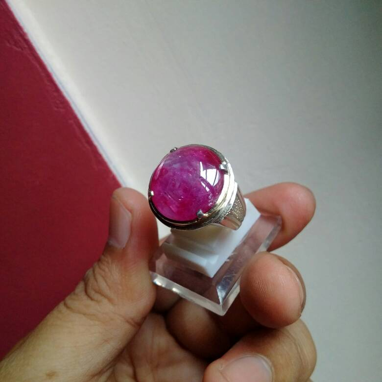 cincin batu ruby burma super