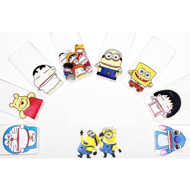 Jual Ultra Thin Soft Case Kartun Lucu Chubby Toon Iphone 4 4s 5 5s 6