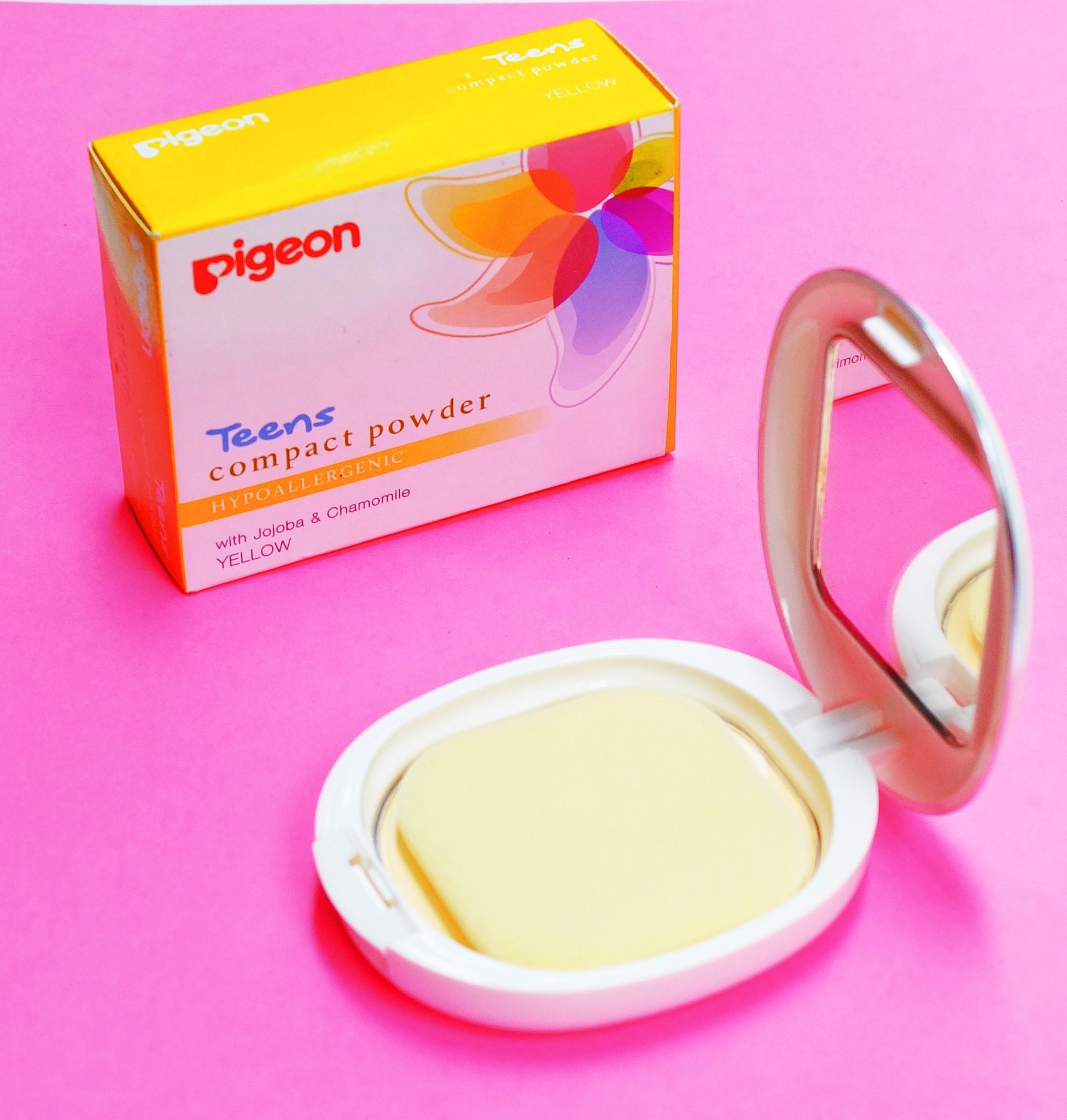 12 Rekomendasi Compact Powder Yang Cocok Banget Untuk Remaja Spice Bedak Padat Pigeon Teens Hypoallergenic Rp 30000