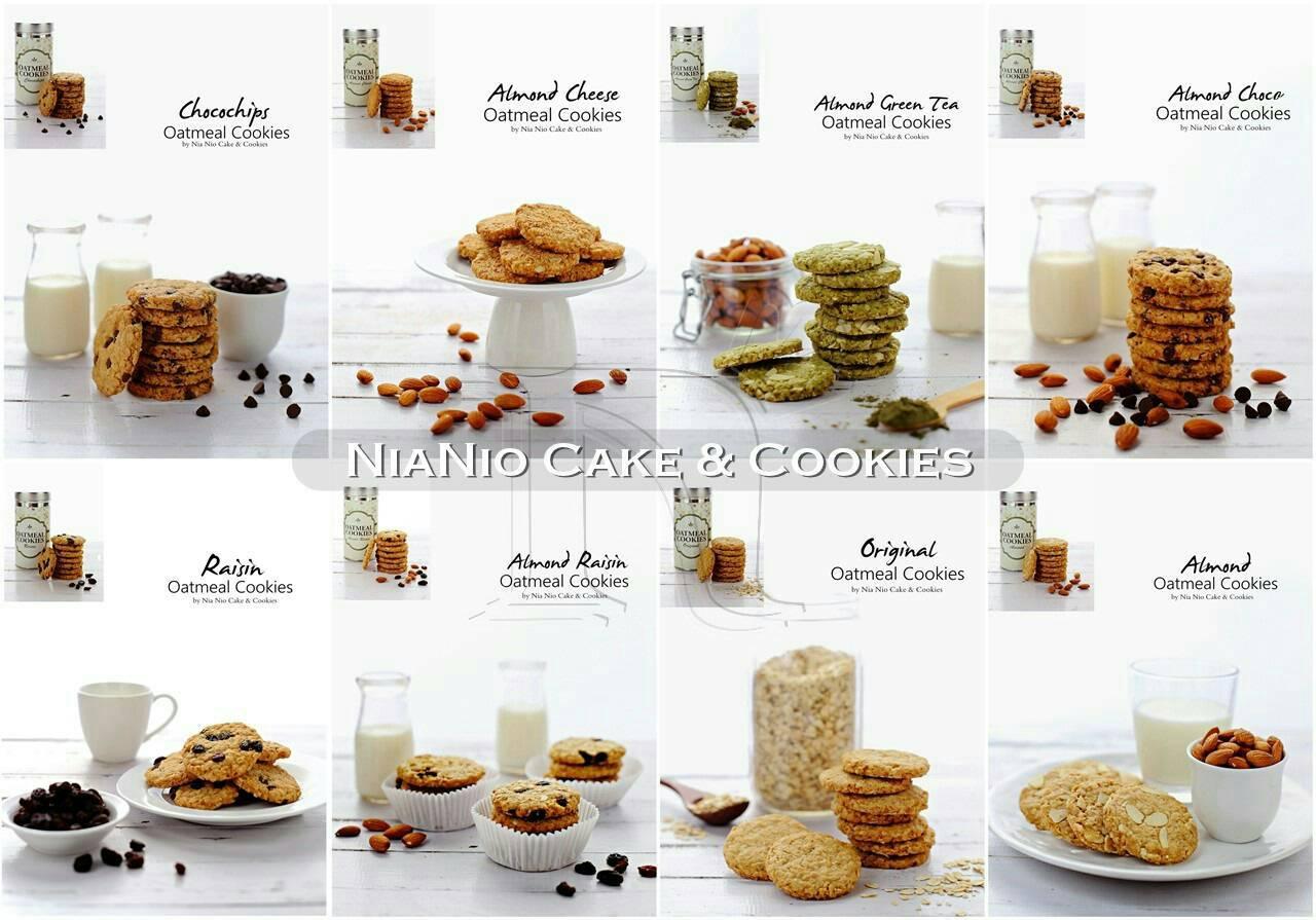 Almond Cookies Surabaya Almond Oatmeal Cookies